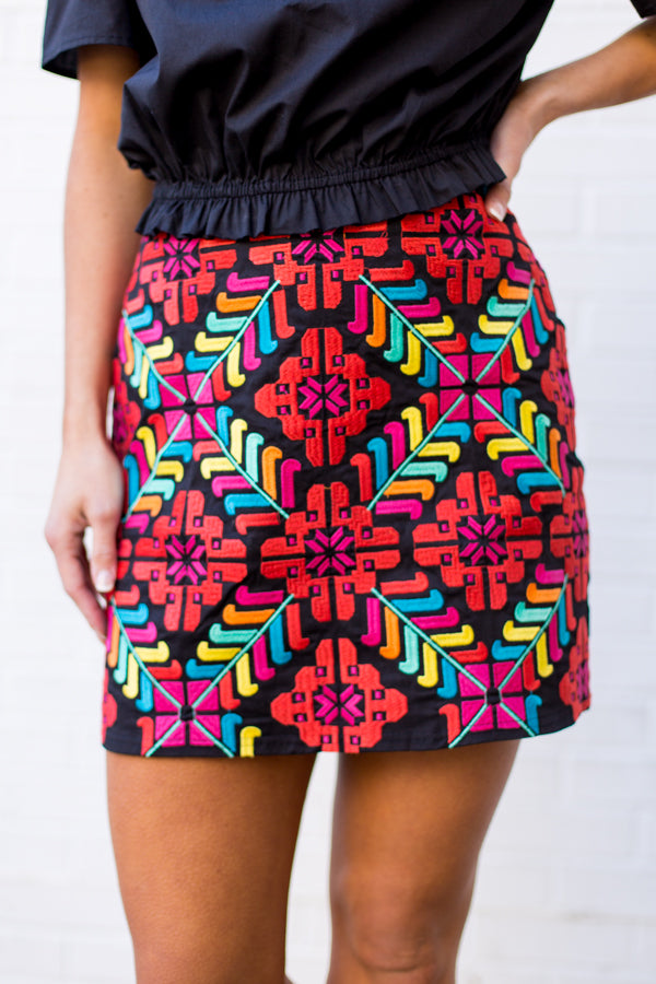 The Mckenna Skirt- Black