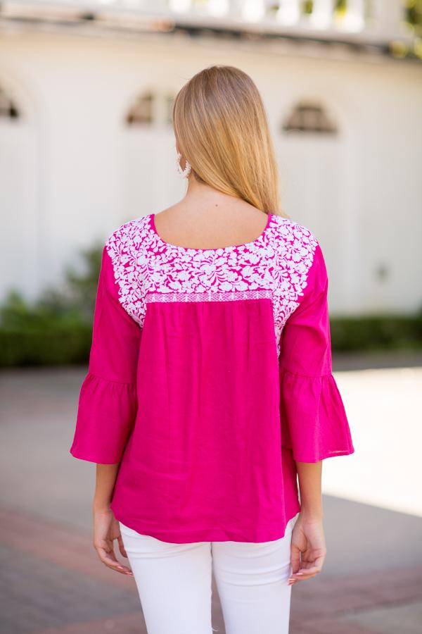 The Margo Long Sleeve Top