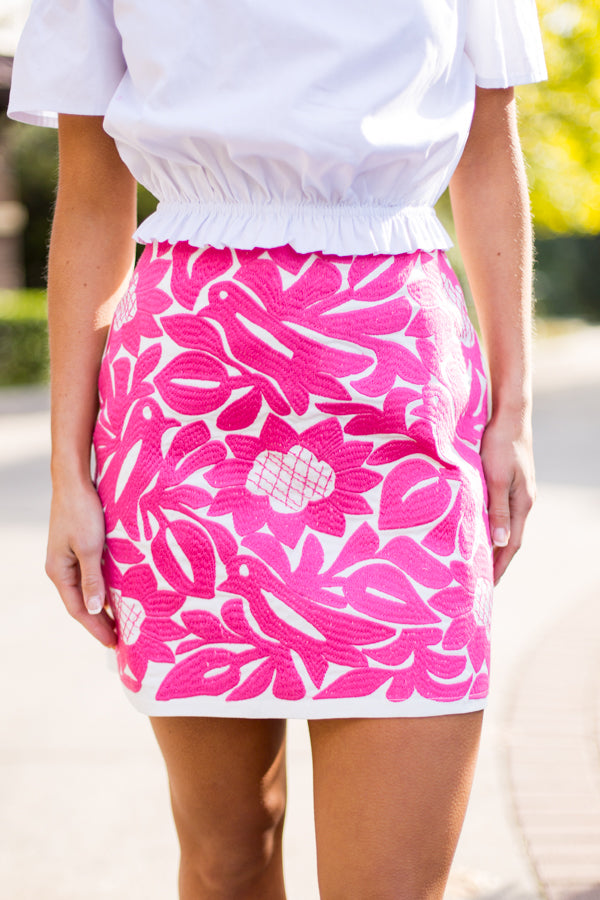 The Marina Skirt- Pink