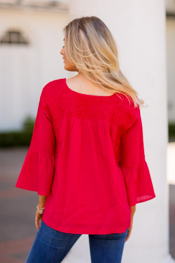 The Reina Long Sleeve Top