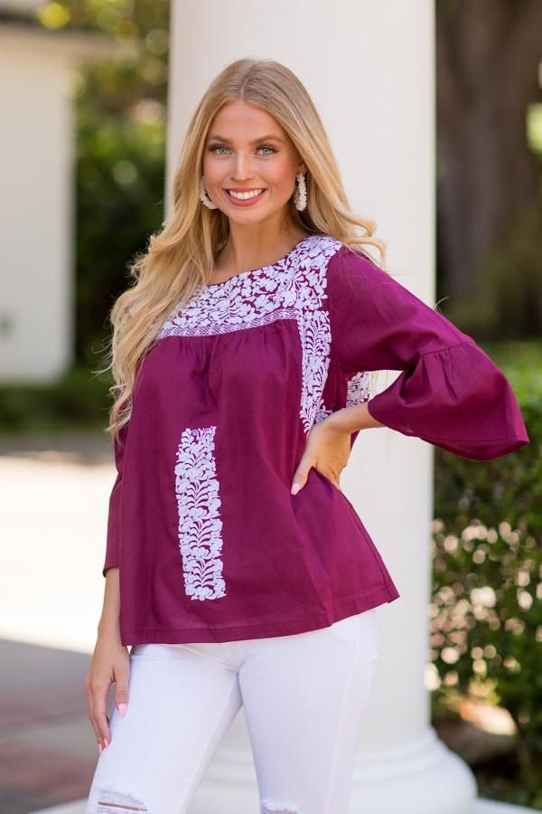 The Anita Long Sleeve Top