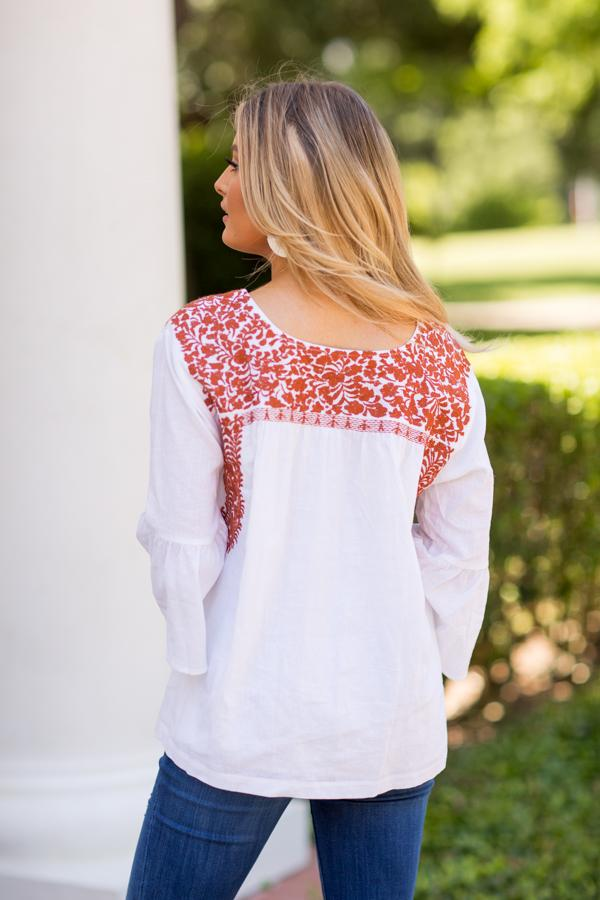 The Guadalupe Long Sleeve Top