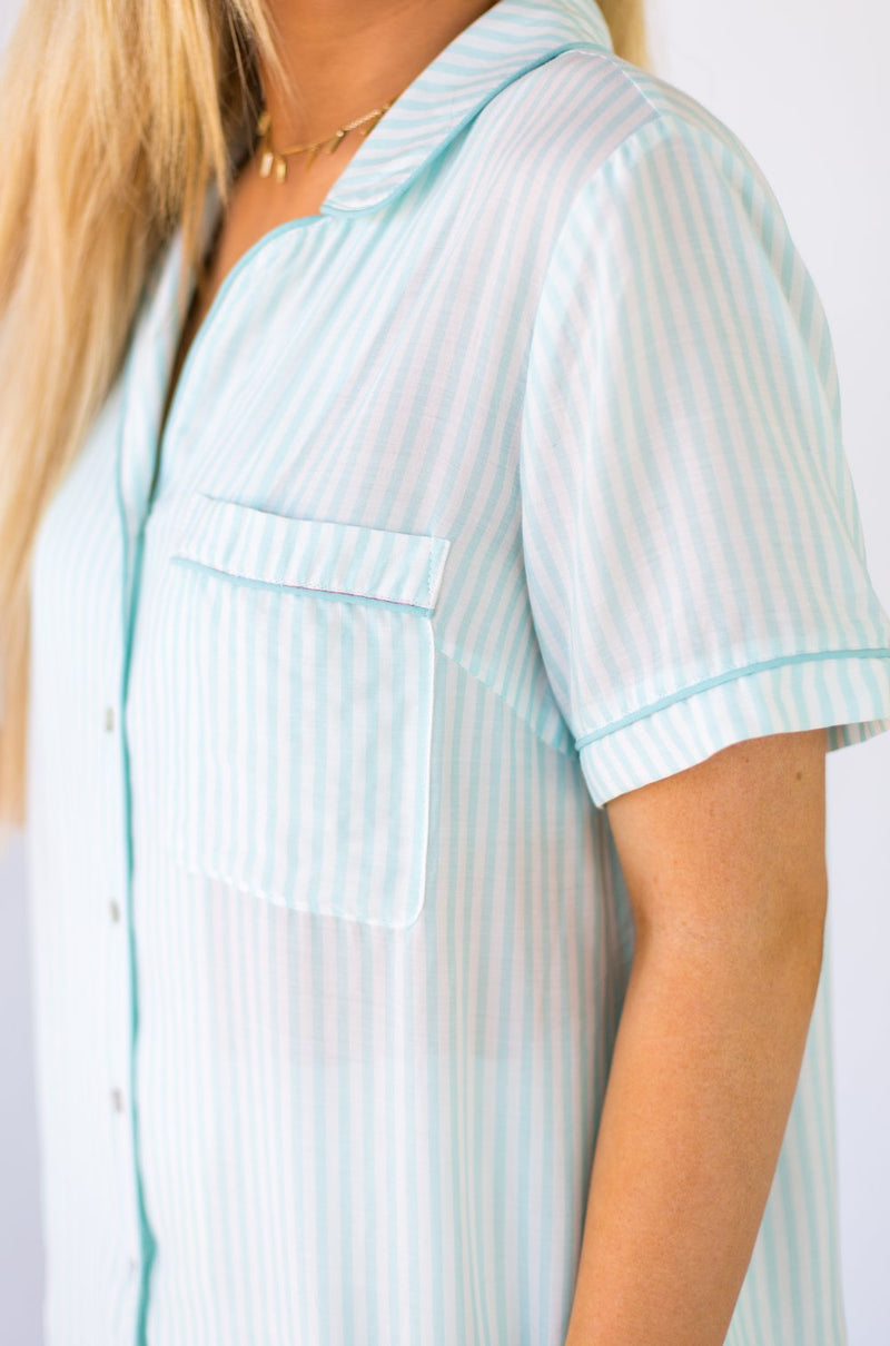 The Micaela Top - Mint