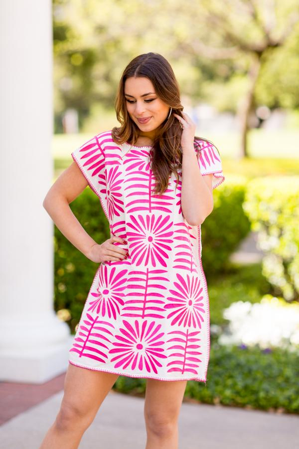 The Ava Dress - Pink
