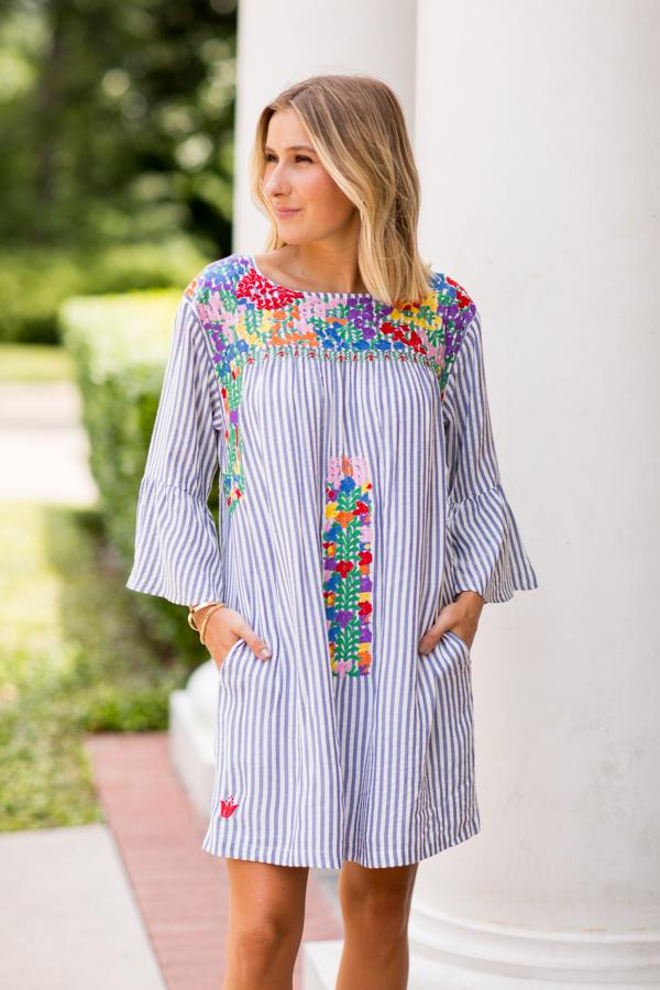 The Ana Maria Long Sleeve Dress