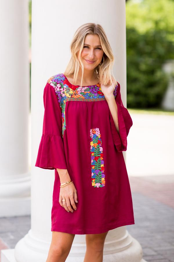 The Bridget Long Sleeve Dress