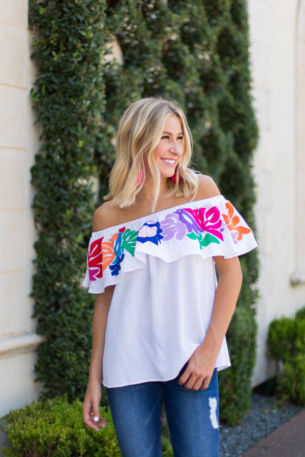 The Maya Off-The-Shoulder Top