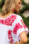 The Leah Top - Red