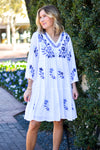 The Madeline Dress- White