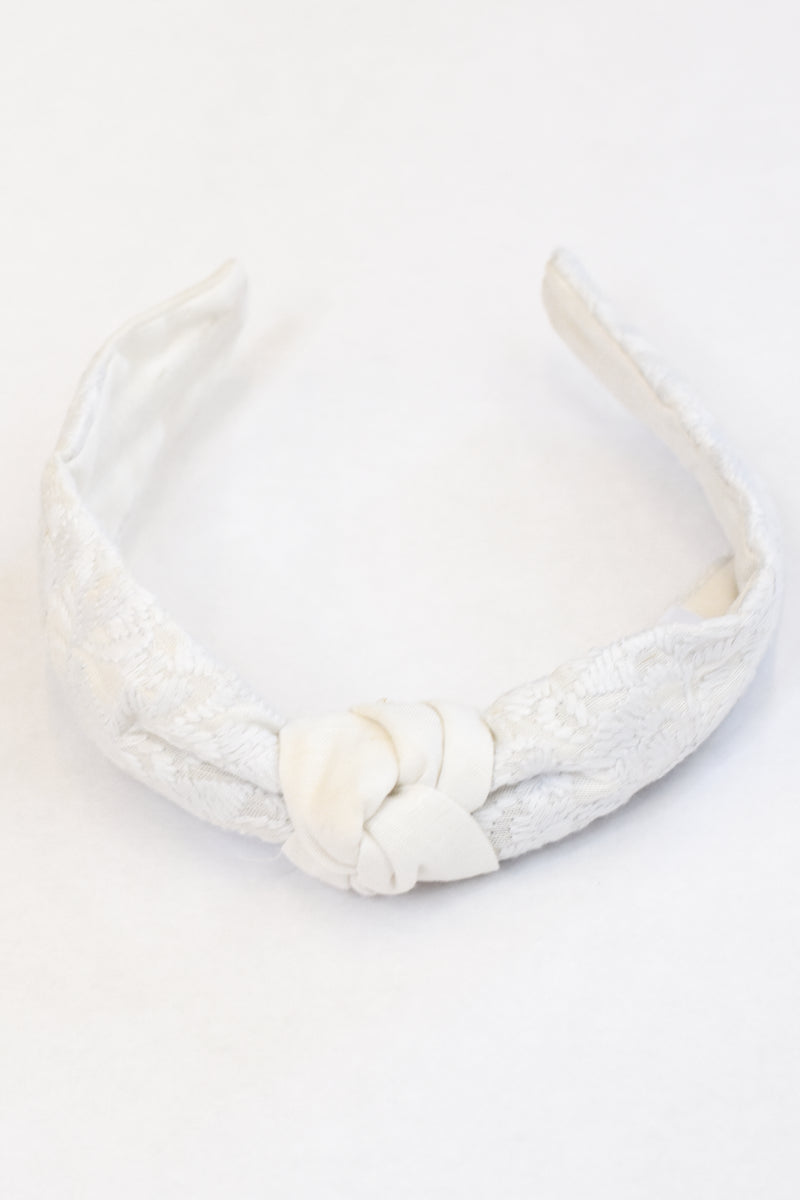Mona Headband- White