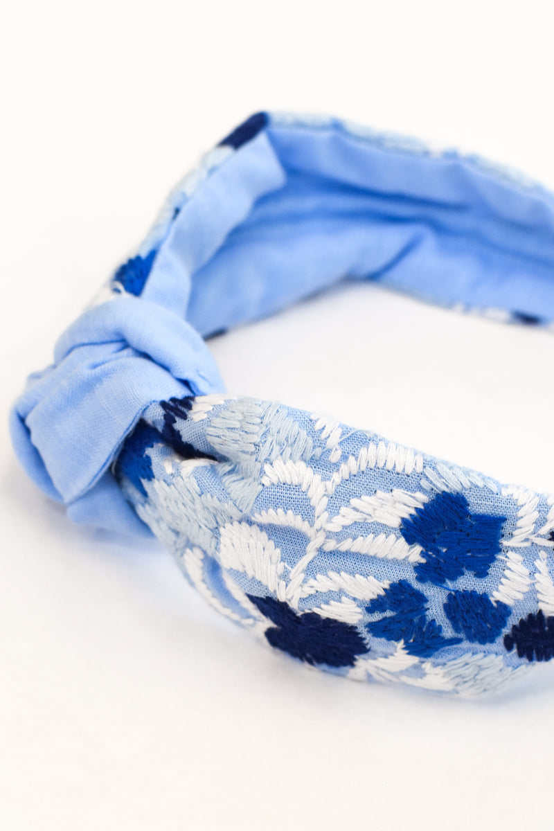 Libby Headband- Blue