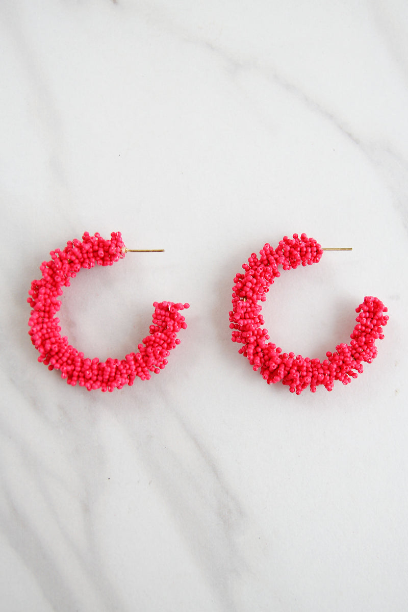 The Kimberly Earrings - Pink