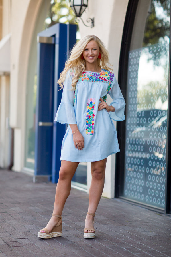 The Brinkley Long Sleeve Dress