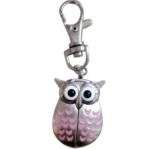 Cute owl shaped  Pocket watch Key-chain [product type] - Bbrandz