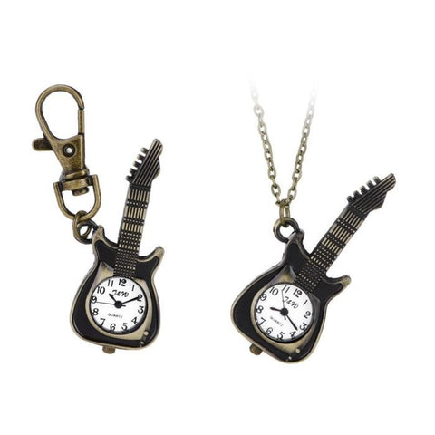 Guitar Shape Necklace, pedant/Key-chain Watch [product type] - Bbrandz