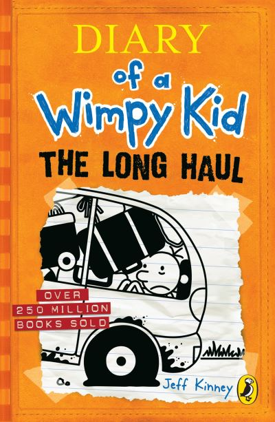 Long Haul Diary Of A Wimpy Kid Book 9