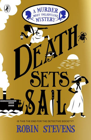 Death Sets Sail - Robin Stevens