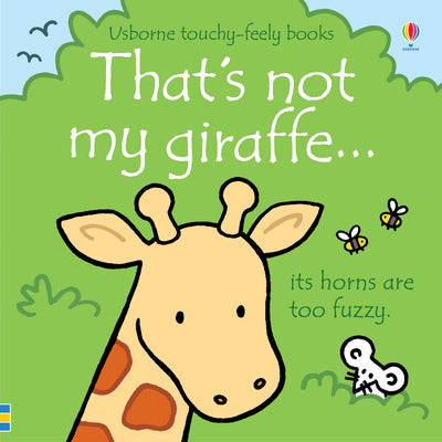 That's not my giraffe...