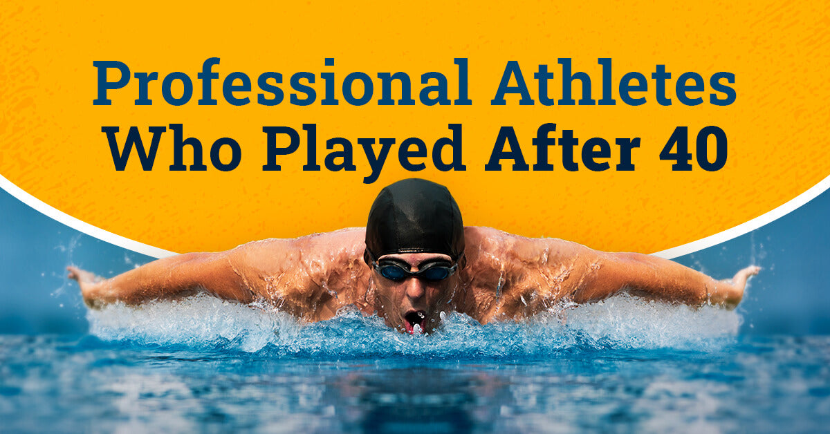 Professional Athletes Who Played After 40! (Their Health Tips)
