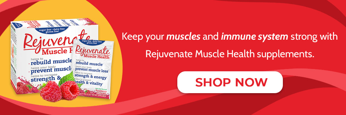 Rejuvenate Muscle Supplement Products