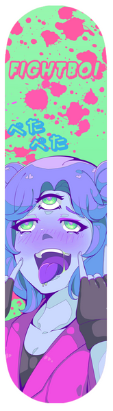 Area51-Chan Skateboard Deck