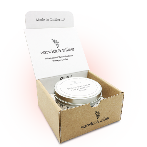warwick & willow monthly candle box