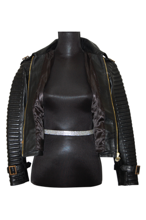 Milena Leather Jacket - bella-cosa-ny