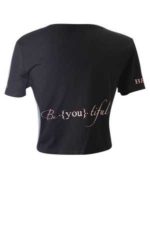 Cropped Be ♦ You Tee - bella-cosa-ny