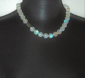 Rainbow Moonstone Necklace - bella-cosa-ny