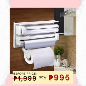 11.11 Three-way Roll Holder and Dispenser + FREE GIFT ⭐⭐⭐⭐⭐