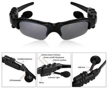 Load image into Gallery viewer, WIRELESS BLUETOOTH SUNGLASSES