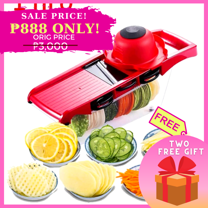 OTSO 6-in-1 Multifunctional Mandoline Slicer + FREE GIFT  ⭐⭐⭐⭐⭐