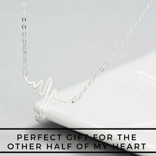 Load image into Gallery viewer, My Eternity Italian Silver Necklace