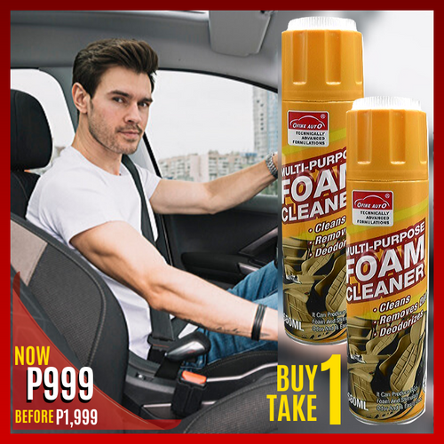 BUY 1 TAKE 1 MULTIPURPOSE FOAM CLEANER FOR CAR & HOME