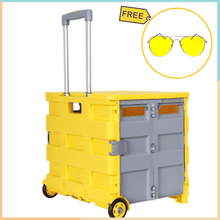 Load image into Gallery viewer, SHOP 'N ROLL Collapsible & Foldable Cart + FREE NIGHT VISION GLASSES