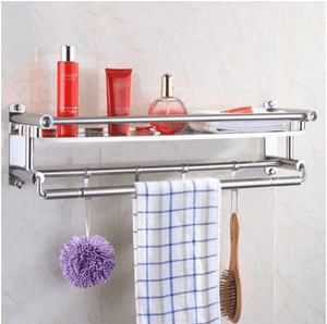 Bathroom Shower Wall Organizer + FREE GIFT ⭐⭐⭐⭐⭐