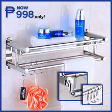 Load image into Gallery viewer, Bathroom Shower Wall Organizer + FREE GIFT ⭐⭐⭐⭐⭐