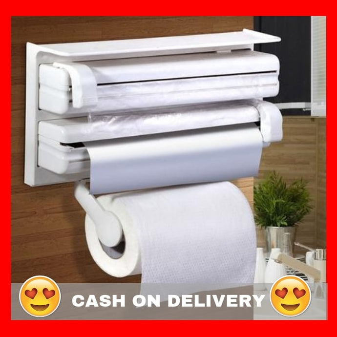 Three-way Roll Holder and Dispenser + FREE GIFT ⭐⭐⭐⭐⭐