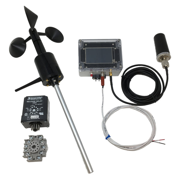 Wireless Anemometer Fountain Control Package