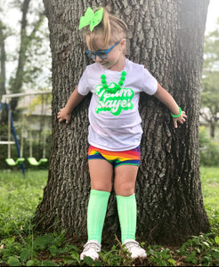 Team Player Neon Kids Tee
