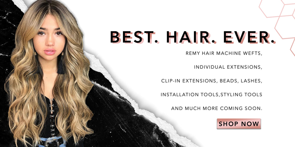 Remy Hair Wefts & Extensions, Keratin tip human hair.  Shop best Quality Remy Hair.