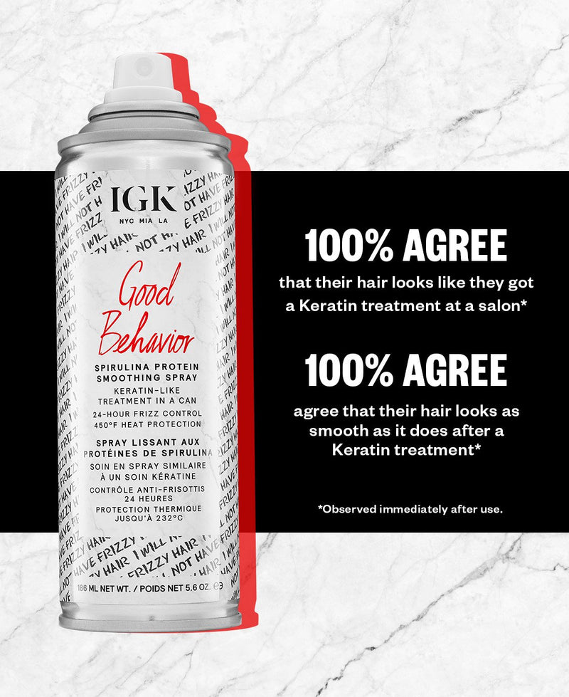 IGK - Good Behavior Spray - Hair Care Products - IGK - The Best Quality Remy Hair wefts, and shop the best quality remy hair Extensions at Your Hair Shop.