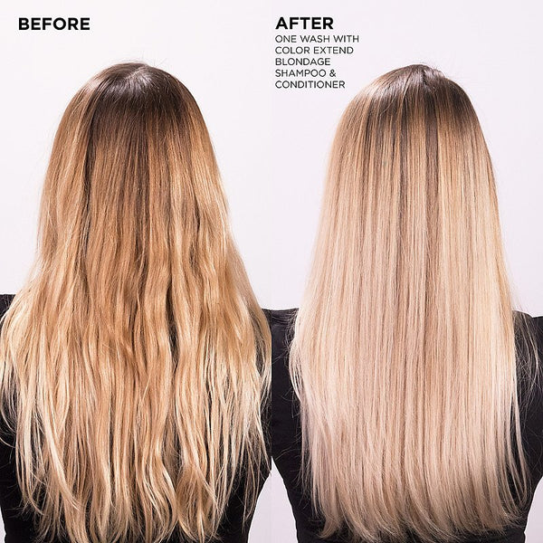 Redken - Color Extend Blondage Color-Depositing Shampoo - Hair Care Products - Redken - The Best Quality Remy Hair wefts, and shop the best quality remy hair Extensions at Your Hair Shop.