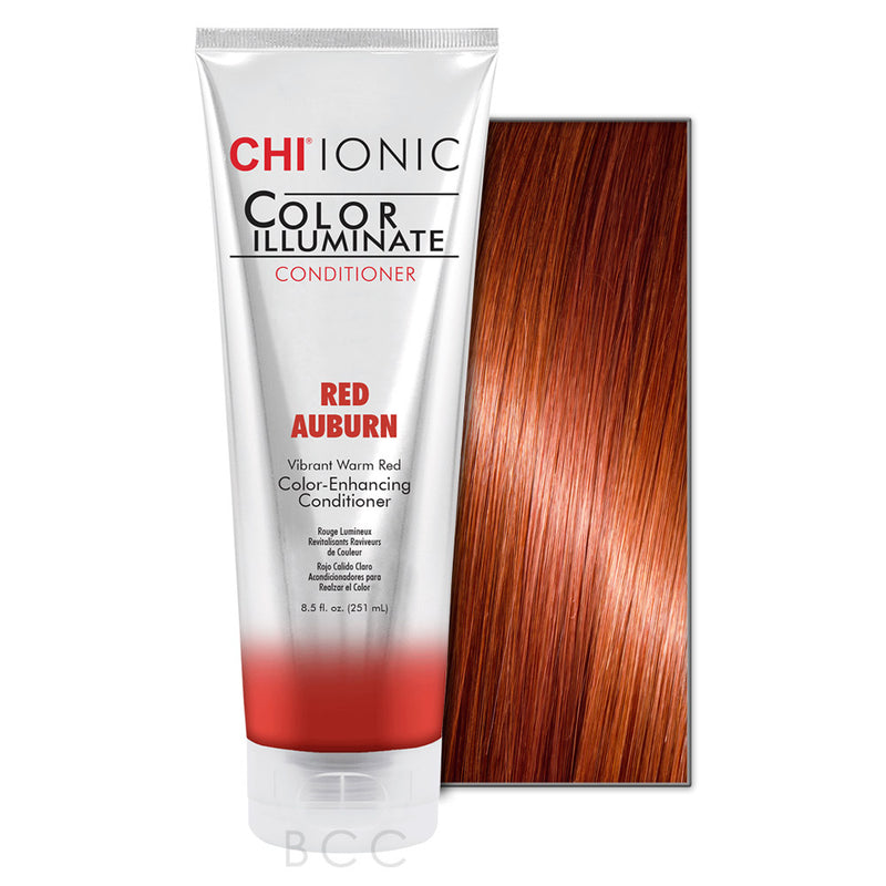 CHI® - IONIC COLOR ILLUMINATE CONDITIONER-RED AUBURN - Hair Care Products - Your Hair Shop  - The Best Quality Remy Hair wefts, and shop the best quality remy hair Extensions at Your Hair Shop.