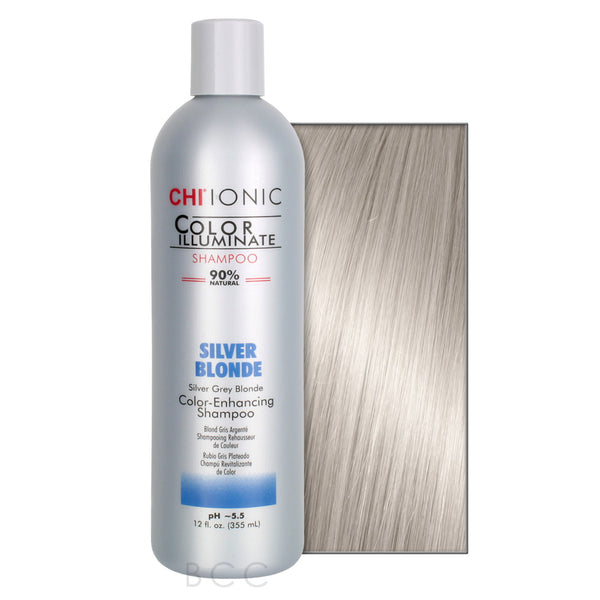 CHI® - IONIC COLOR ILLUMINATE SHAMPOO-SILVER BLONDE - Hair Care Products - CHI® - The Best Quality Remy Hair wefts, and shop the best quality remy hair Extensions at Your Hair Shop.