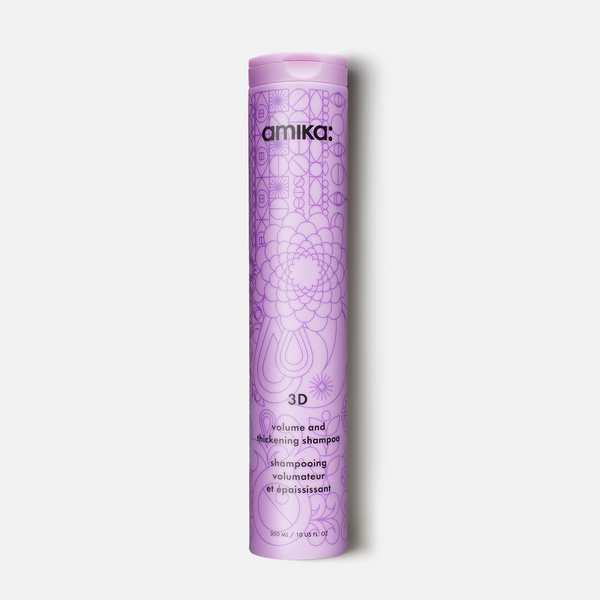 Amika - 3D Volume and Thickening Shampoo - Hair Care Products - Amika - The Best Quality Remy Hair wefts, and shop the best quality remy hair Extensions at Your Hair Shop.
