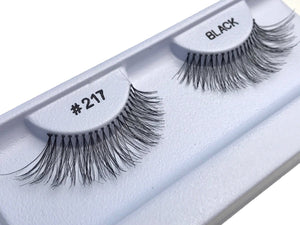 Eyelashes style #217 - Eyelashes - Your Hair Shop Extensions - The Best Quality Remy Hair wefts, and shop the best quality remy hair Extensions at Your Hair Shop.