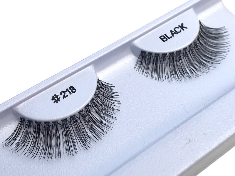 Eyelashes style #218 - Eyelashes - Your Hair Shop Extensions - The Best Quality Remy Hair wefts, and shop the best quality remy hair Extensions at Your Hair Shop.