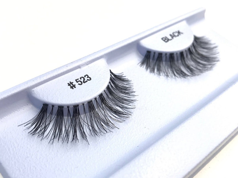 Eyelashes style #523 - Eyelashes - Your Hair Shop Extensions - The Best Quality Remy Hair wefts, and shop the best quality remy hair Extensions at Your Hair Shop.