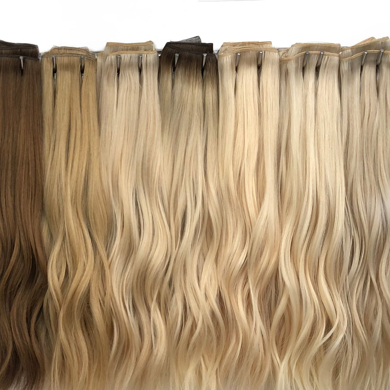 Extra Thick Clip-in Hair - Silky Straight 68g, 75g, 90g - Clip-ins - D-Lux - The Best Quality Remy Hair wefts, and shop the best quality remy hair Extensions at Your Hair Shop.